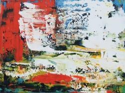 "Day Trip Delirium Leah McCloskey acrylic on canvas 40"" x 30"""