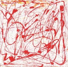"Out with Buggzy -10 ° Leah McCloskey acrylic on canvas 12"" x 12"""