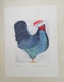 """Nicholas Watercolor 11 x 14"""" $50"""
